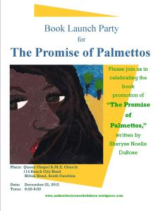 """Where better to launch a book about the Sea Islands than on a Sea Island. Come join me on December 22nd for the """"Promise of Palmettos"""" Book Launch!"""